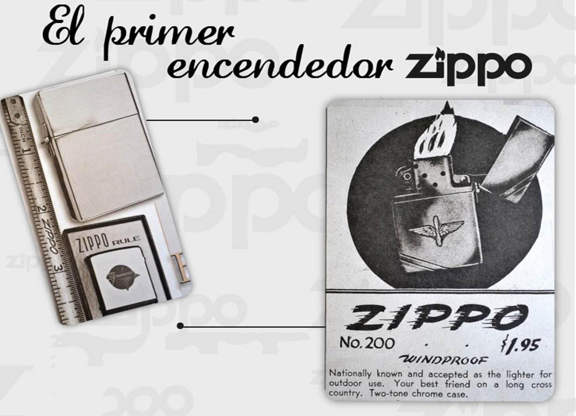 El Primer Encendedor Zippo