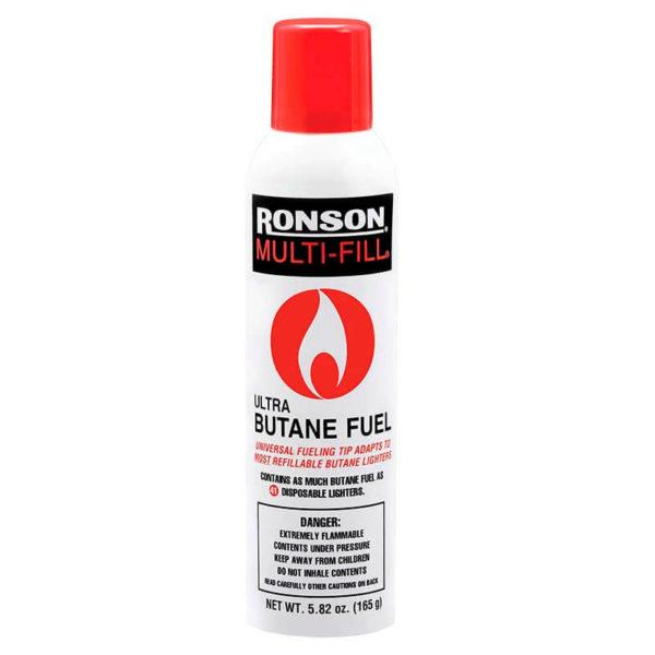 GAS BUTANO RONSON BOTE DE 290 ML
