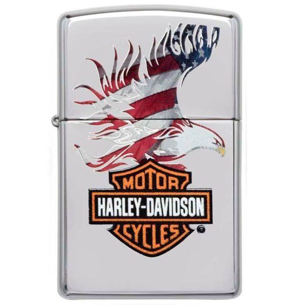 ENCENDEDOR HARLEY DAVIDSON AGUILA BANDERA USA