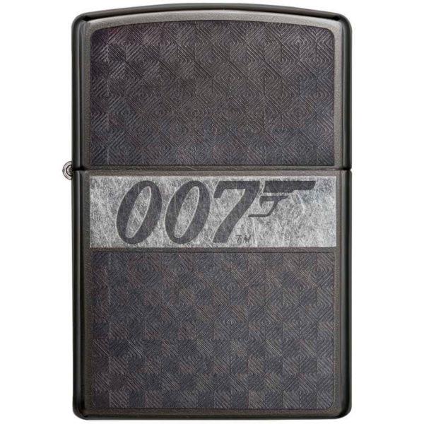 ENCENDEDOR ZIPPO JAMES BOND 007 GRIS