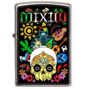 ENCENDEDOR ZIPPO DISEÑA TU MEXICO VIDA MEXICANA
