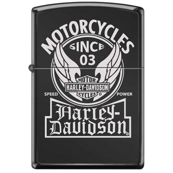 ENCENDEDOR HARLEY DAVIDSON NEGRO MOTORCYCLES